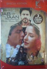 JAB TAK HAI JAAN 3 DISC DVD ORIGINAL BOLLYWOOD DVD Sharukh Khan Khan.