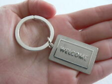 Tiffany & Co Silver Welcome Mat Key Ring Keychain Rare