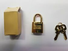 LOUIS VUITTON PADLOCK GOLD FOR SMALL LEATHER GOODS VERY RARE ORIGINAL NEW!!!