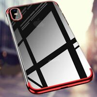 Ultra Thin Shockproof Phone Case Clear TPU Cover For Apple iPhone XS Max XS X