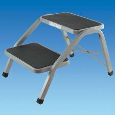 Pennine Caravan / Motorhome Double Step Steel  Non Slip - Caravan / Motorhome