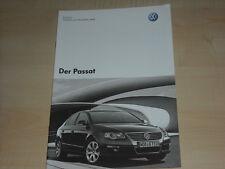 51278) VW Passat Preise & Extras Prospekt 12/2007