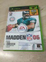 Madden NFL 06 Microsoft XBOX EA Sports
