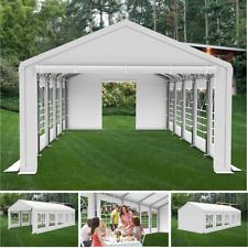 4x10m Partyzelt Festzelt Pavillon Garten Gartenzelt Bierzelt STABIL SMART NEU