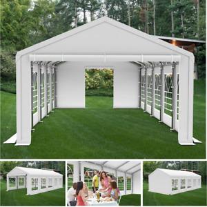 3x6m Partyzelt Festzelt Pavillon Garten Gartenzelt Bierzelt STABIL SMART NEU
