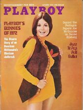 PLAYBOY MAGAZINE-VINTAGE-OCTOBER 1972-GREAT CONDITION-FREE SHIPPING IN CANADA