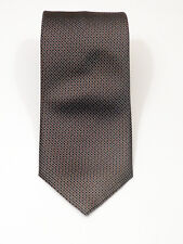 "LUXURY CURRENT BRIONI MICRO DOTS ITALIAN LIQUID GLOSS SILK TIE 61"" X 3.5"""