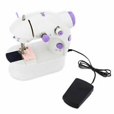Mini Sewing Machines Portable Desktop Electric Sewing Machine Household Tailor