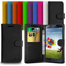 Custodia Flip Cover Pelle Portafogli Per Samsung Galaxy S4 I9500 + Pellicola