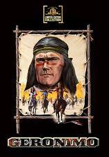 Geronimo 1962 (DVD) Chuck Connors, Kamala Devi, Adam West - New!