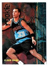 Donny Marshall 1996 Fleer Cleveland Cavelier NBA Insert Basketball Rookie Card