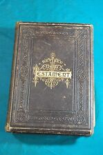 People's Edition Revised New Testament Hoyt Engravings Map Jones Brothers 1881