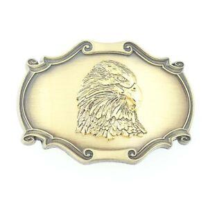 New Old Stock Eagle Belt Buckle Raintree Patriotic USA American