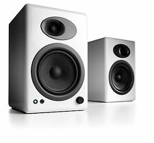 Audioengine A5+  Premium Powered Speakers White (Pair) - Free Shipping - NEW