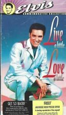 Live a Little, Love a Little (VHS, 1997, Includes Theatrical Trailer)