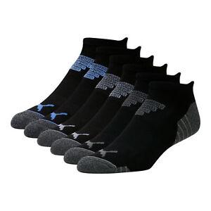 PUMA Men's Low Cut Socks [6 Pack]
