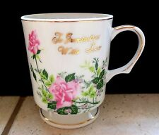 "For Mother's Day Vintage ""To Grandmother with Love"" China Coffee Cup"