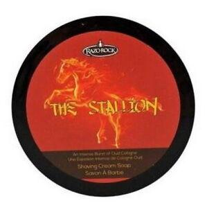 The Stalloin Shaving 150ml RAZOROCK Italy Tallow Shea Butter Argan Oil Aloe Vera