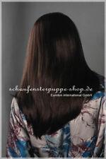 Perücke  wig  weiblich Frau mittellang glatt schwarz et-w245 Kopf  Haare  NEU!!!
