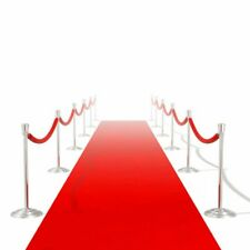 Red Carpet 20m Extra Heavy 400g/m2 Floor Runner Rug Party Event Decor