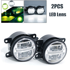 2PCS Car Full LED Lens Front Bumper Fog Lamp Original Spotlight For Honda Mondeo