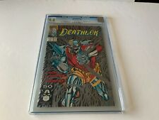 DEATHLOK 1 CGC 9.8 WHITE PAGES METALLIC SILVER INK COVER MARVEL COMICS 1991 KX