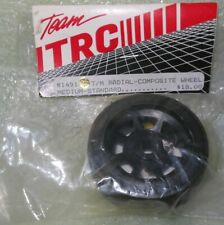 TRC 1491 T/M Radial Rubber Capped Front Tire On Composite Wheel Pan Car RC10L