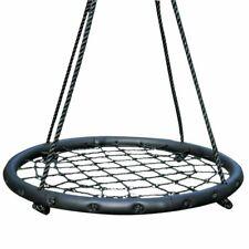 OUTDOOR PLAY Nest Rope Swing with Net Web Outdoor Garden Patio Seat 60 cm 45401