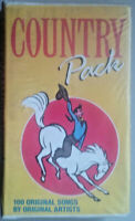 cassette tapes country pack 100 original songs by original artists