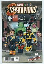 Flight Tracker Nycc 2016 Now Champions #1 Minimates Variant Eb06 Other Modern Age Comics