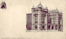 pre-1907 ERIE COUNTY BANK BUILDING, BUFFALO, N.Y. Prudential Bldg.