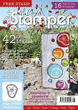 Craft Stamper August 2018 Magazine Only / No Stamp Inside/
