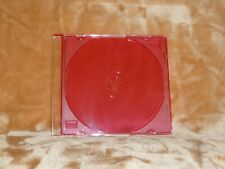 Standard CD Jewel Case Desktop Calendar Box 5-pack RED nice quality NEW