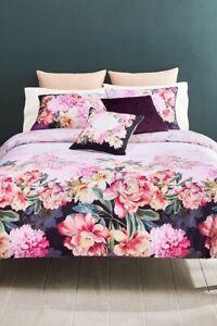 Ted Baker Painted Posies 3P king comforter Shams Set