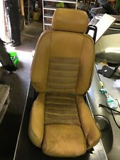 "Alfa Romeo Spider Series 3/4. Left seat. Beige ""leather"" and alcantara"
