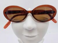 Vintage Nautica N6003S Brown Oval Sunglasses Hong Kong FRAMES ONLY