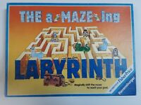 Vintage The aMAZEing Labyrinth Board Game  Complete Ravensburger 1988