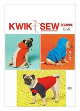 Kwik Sew SEWING PATTERN K4033 Dog Coats XS-XL
