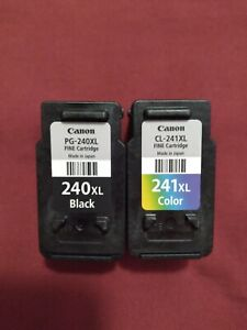Canon 240 & 241 OPEN BOX COLOR AND BLACK CARTRIDGES