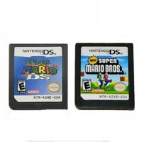 Super Mario+ Bros Game Card For Nintendo 3DS DSI DS XL Xmas Gift