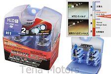 2x MTEC H1 12V 55W-100W Headlights Halogen Fog Bulb 4350k SUPER WHITE HID CLASS