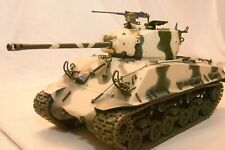 Franklin Mint Armour 1/24 General George S Patton's M4-A3 Sherman tank boxed