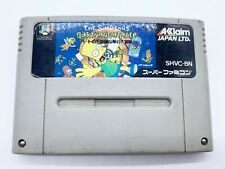 Vintage Super Famicom Nintendo The Simpsons Bart's Nightmare *Japanese Import*