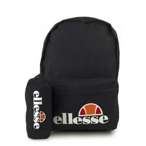 Ellesse Men's Rolby Backpack & Pencil case in Black // BNWT //
