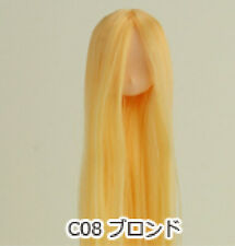 Obitsu Doll 11cm hair implantation head for natural body (11HD-F01NC08) blonde