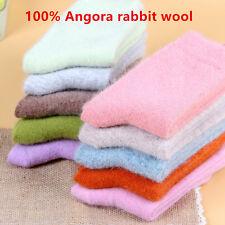 Womens100% Angora Rabbit Wool Womens Girls Socks-Luxury Comfort Soft Warm Wool