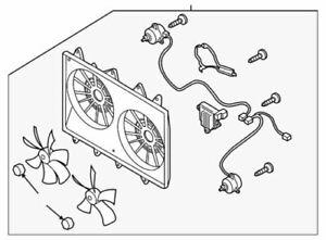 Genuine Mazda Fan Assembly CA26-15-025