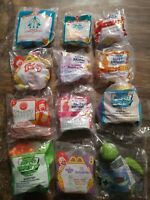 Lot Of 12 Vintage 90s McDonalds Happy Meals Toys NIP Muppet Furby Birthday Polly