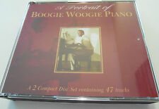 A Portrait Of Boogie Woogie Piano (2 x CD Album) Used very good