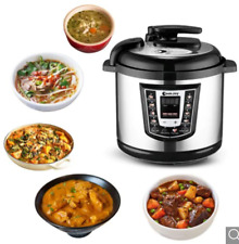 Cookjoy Electric Pressure Cooker YBW60-100H, 6L,8 in 1,1000W, Screen Digital LED